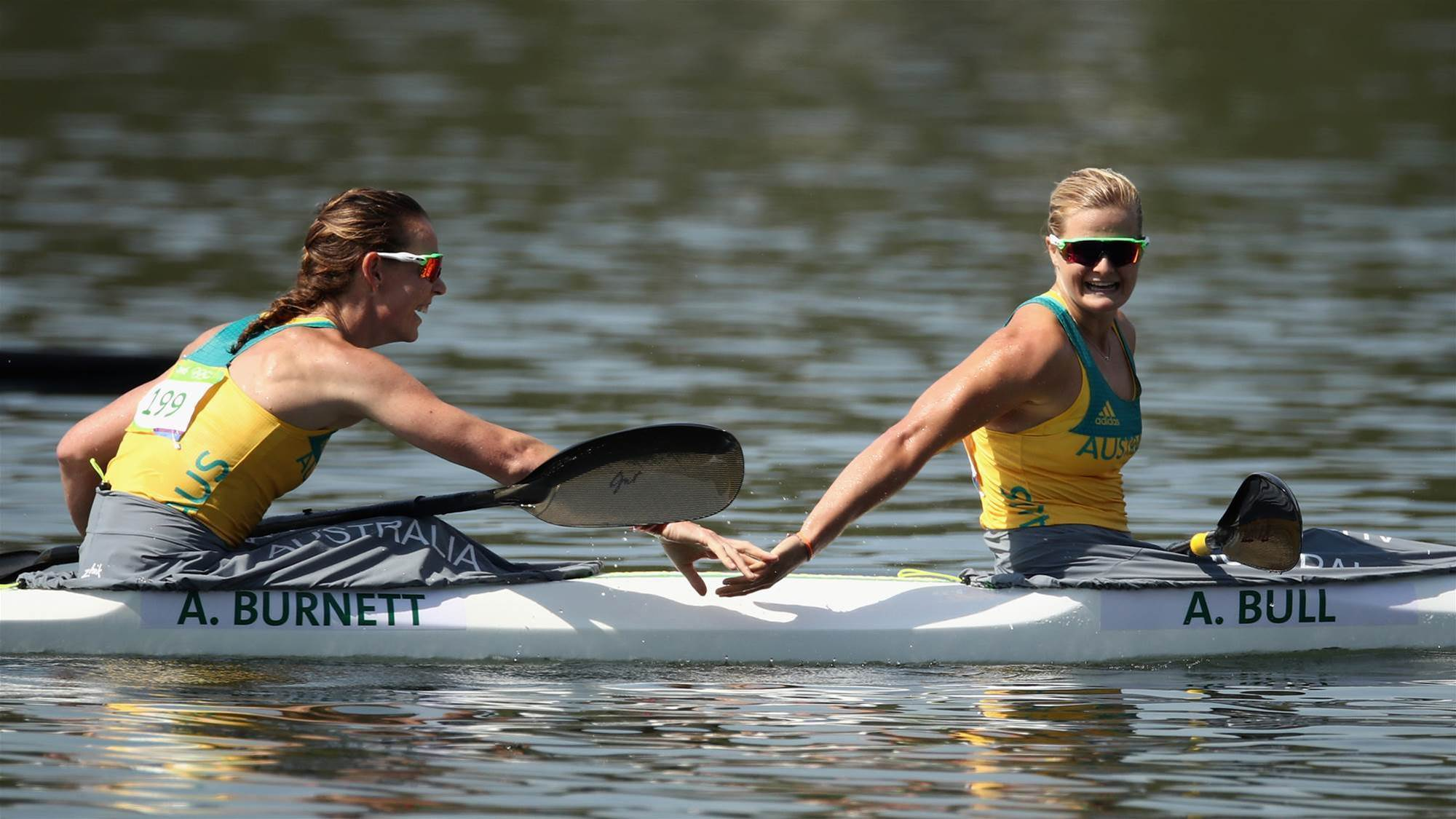 Women's K4 500m have Olympic dreams