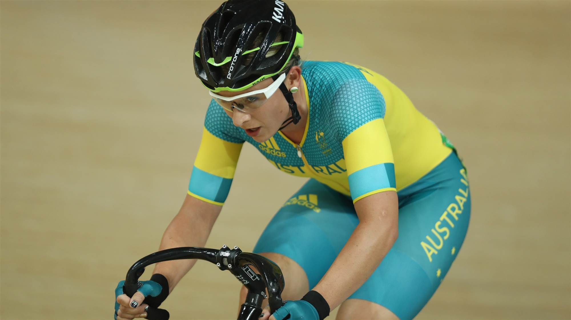 Edmondson: Australia's track cyclist ready to rival England