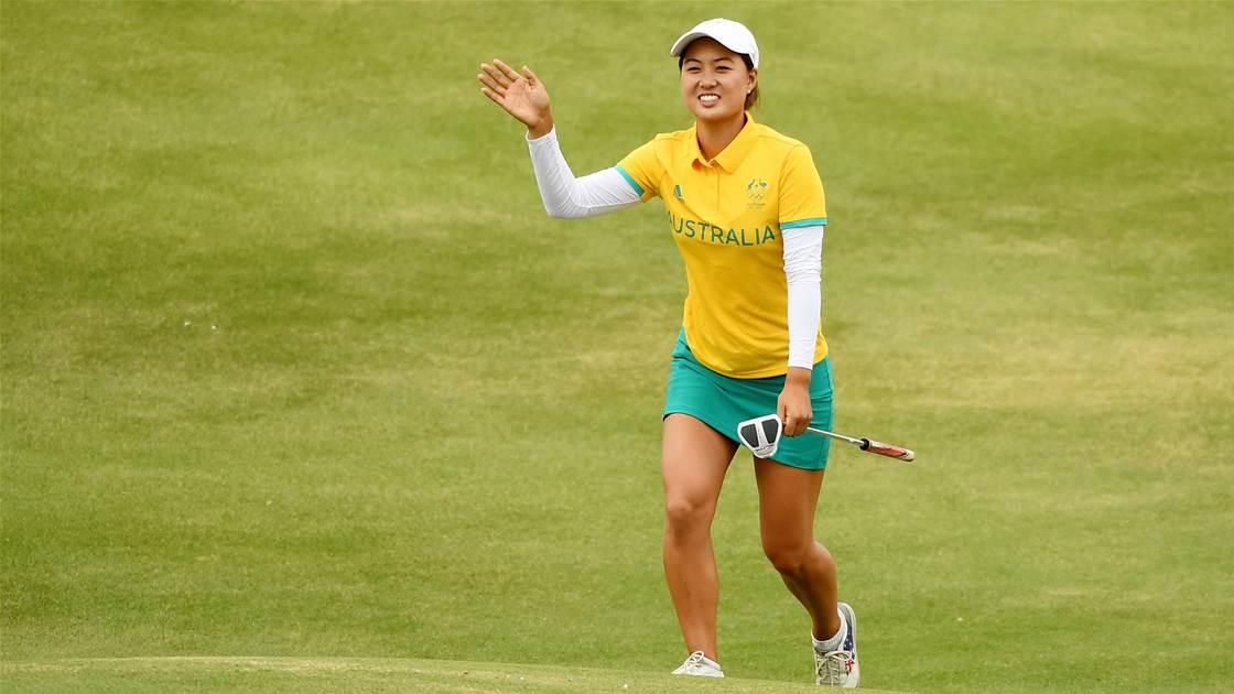 Final Women's Olympic Golf Rankings