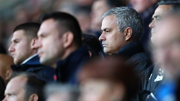 Jose Mourinho at Russia's Friendly with Austria