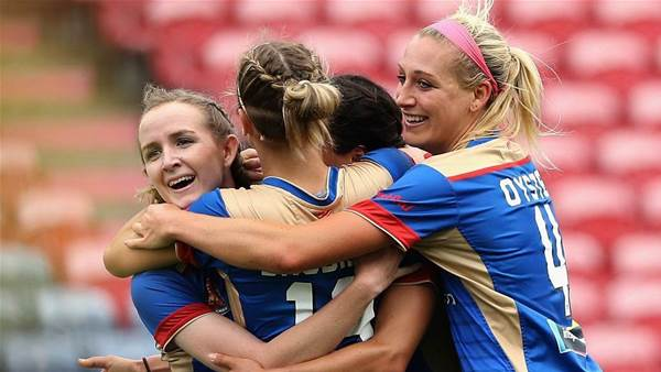 Jets announce squad of 'predominantly Newcastle girls'