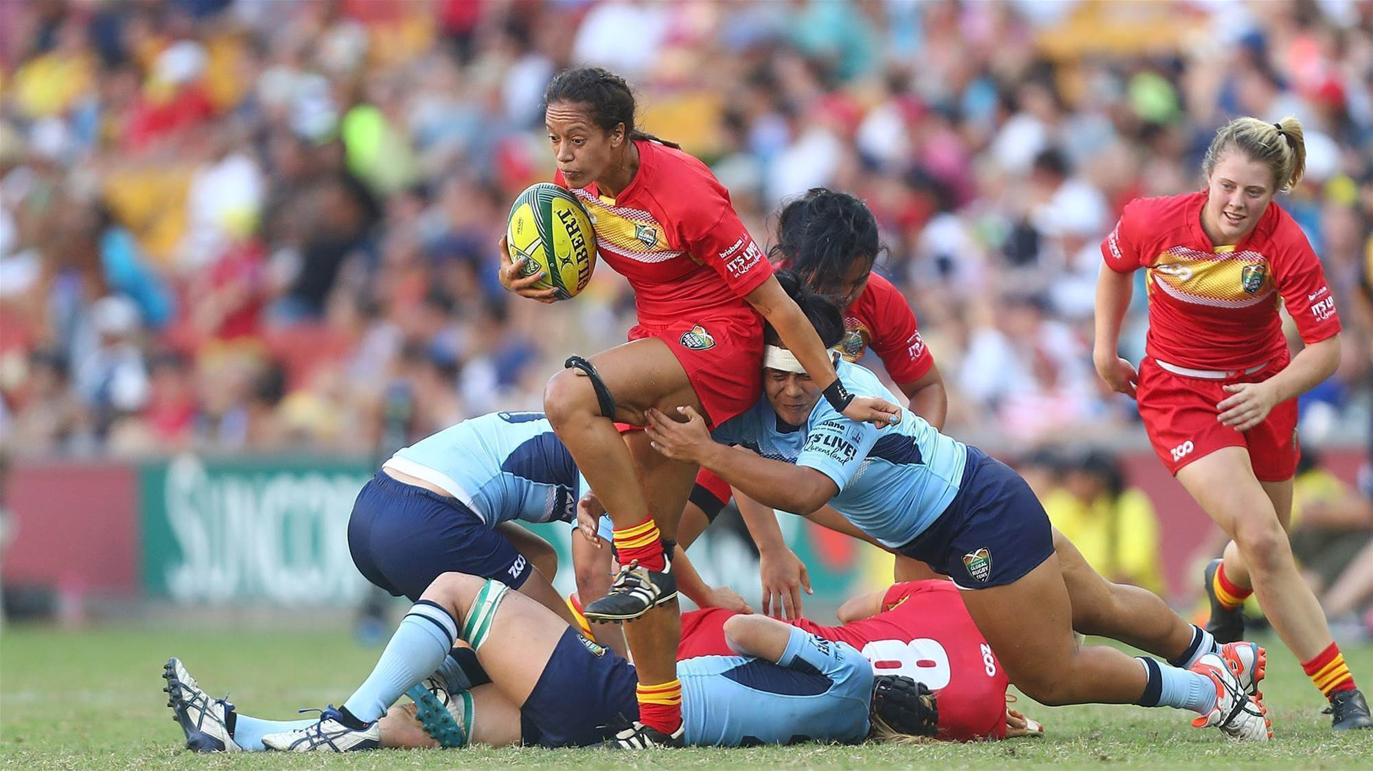 Rugby Global Tens: NSW on top