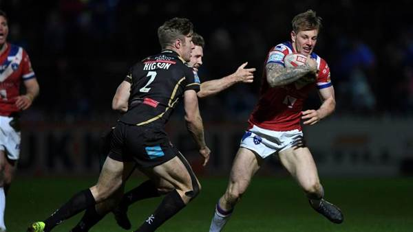 NRL clubs want English winger