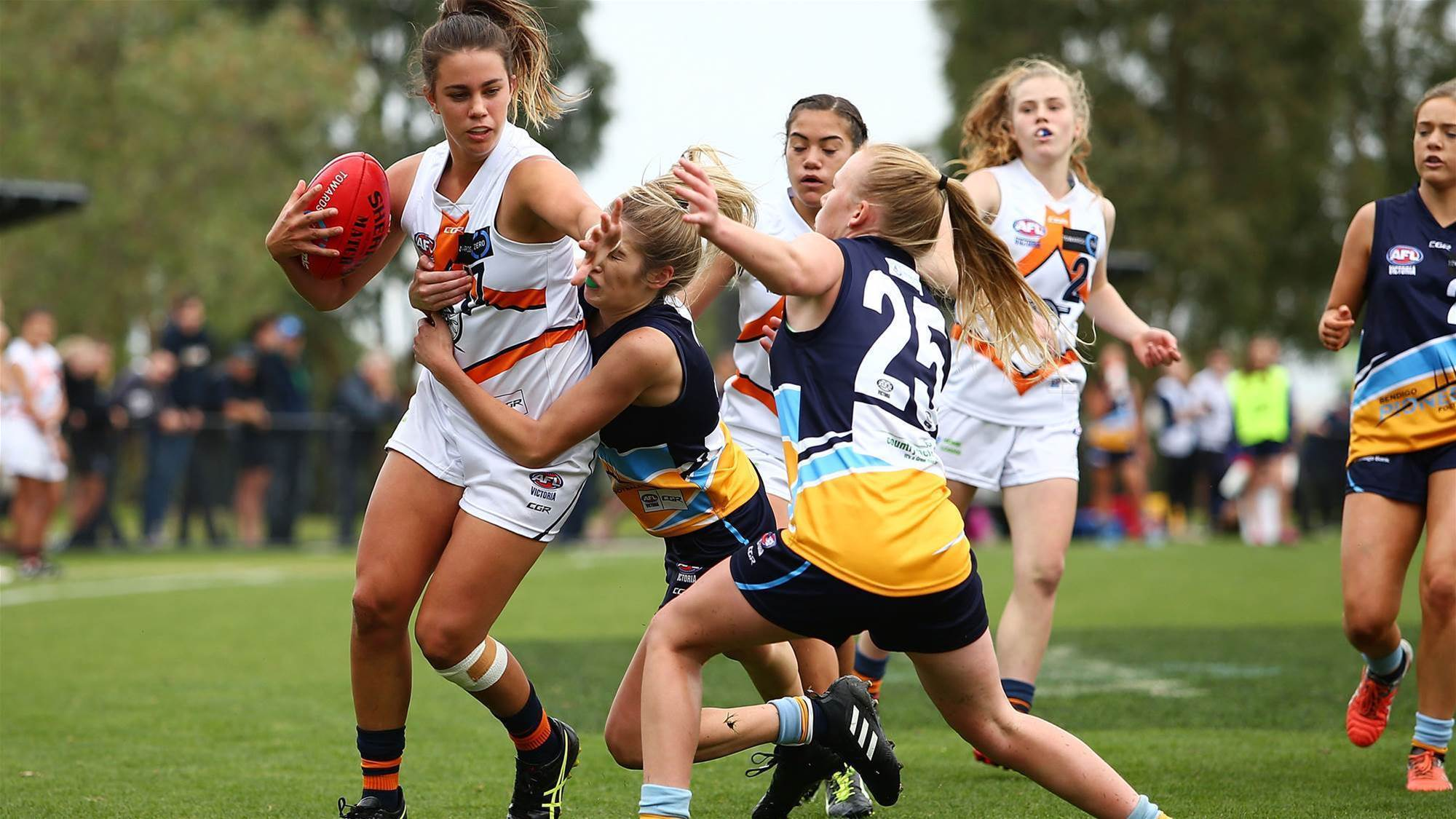 Female participation grows in Aussie Rules