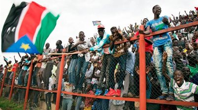 'The sky is the limit' - South Sudanese football continuing to improve says Kenny Athiu