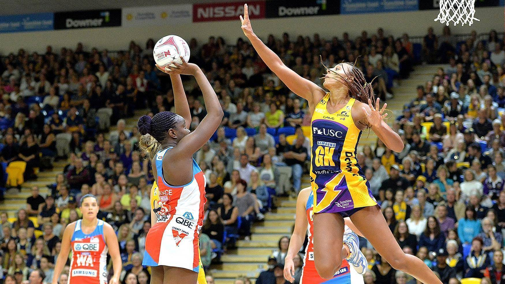 Lightning wary of strong Swifts