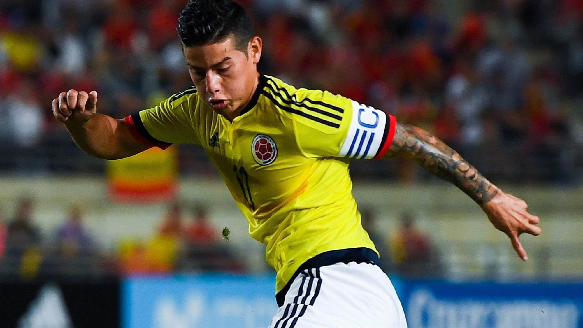 Colombia stars named for Socceroos clash