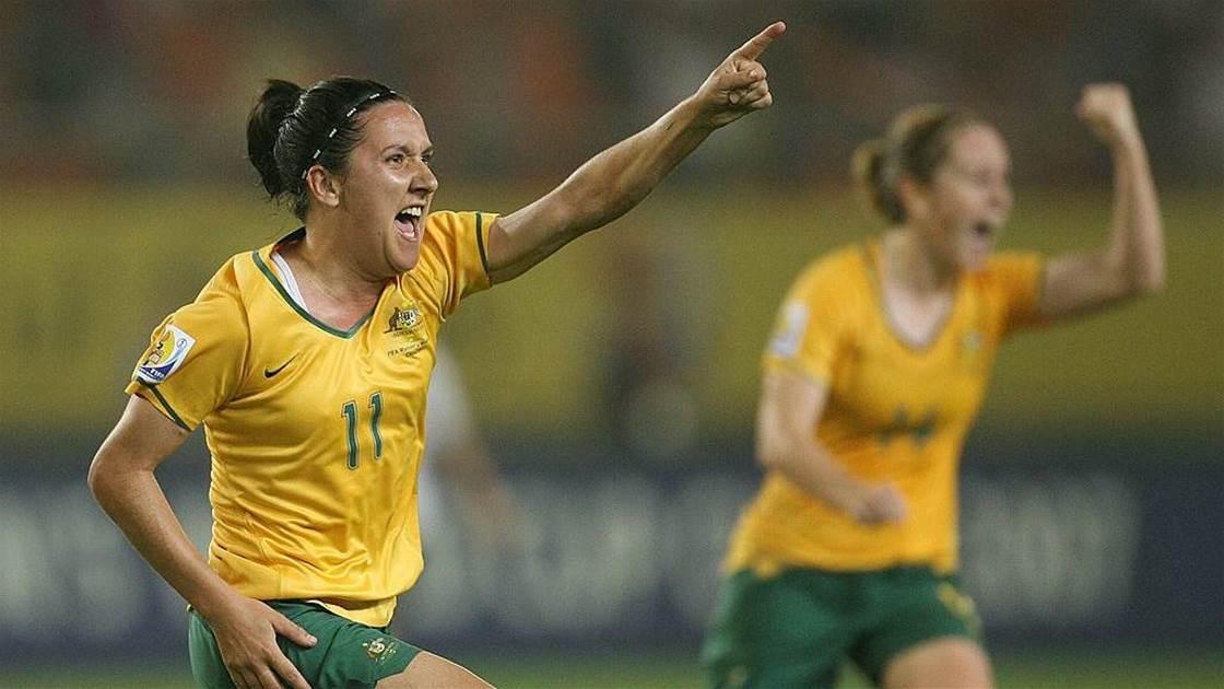De Vanna 'stepped up' and spawned a new Matildas age
