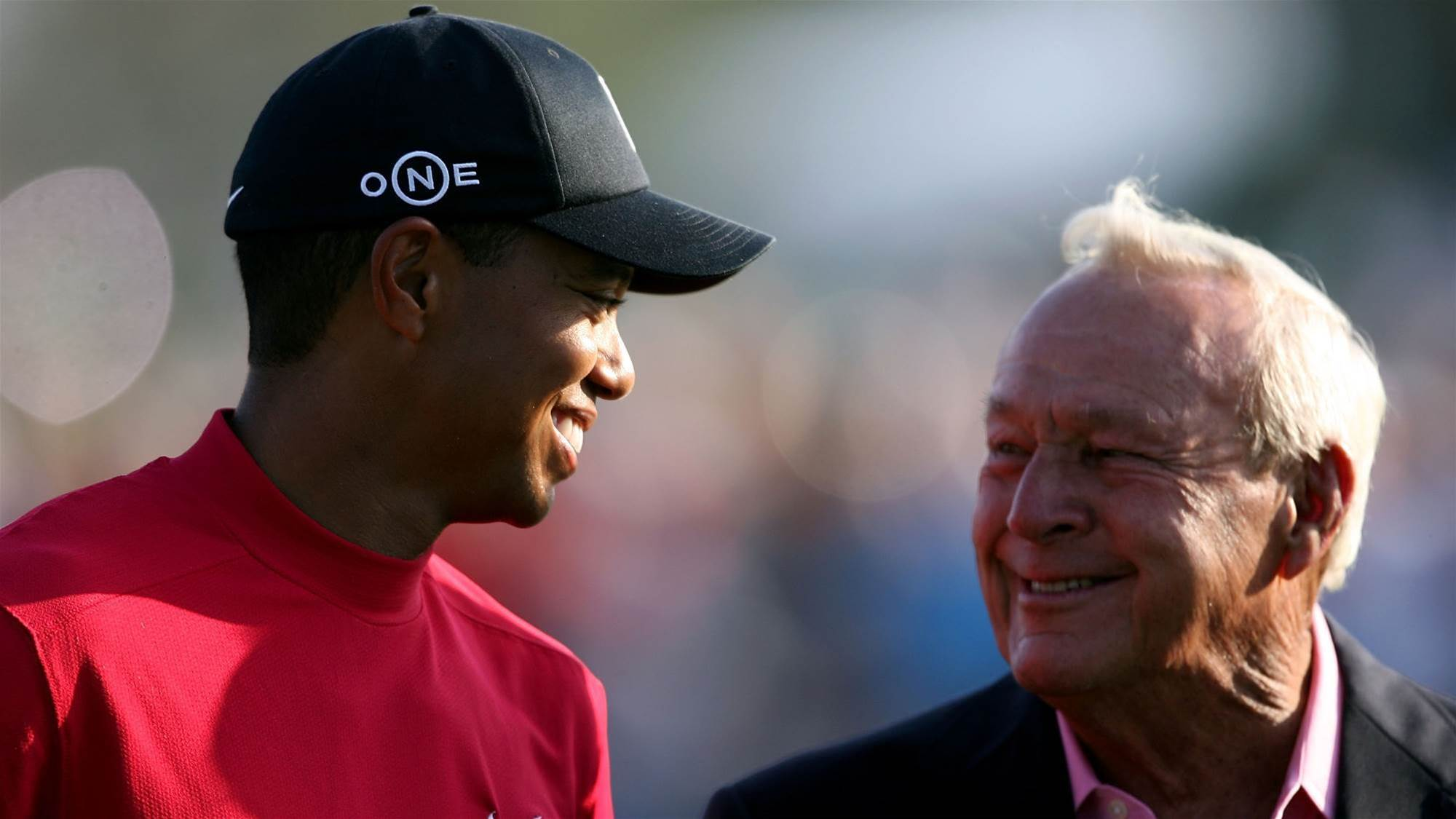Woods honoured alongside Palmer & Nicklaus