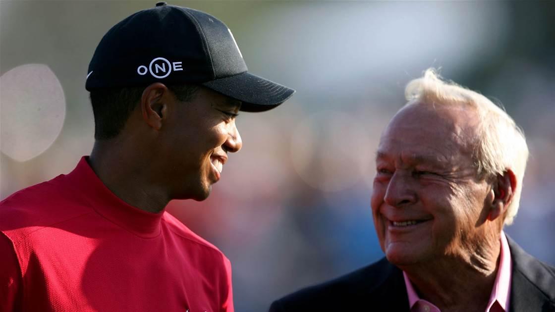 Woods honoured alongside Palmer & Nicklaus