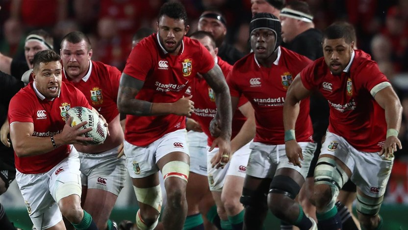 Lions Announce 2021 South African Tour Schedule