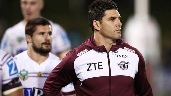 Barrett to slip out of the Sea Eagles