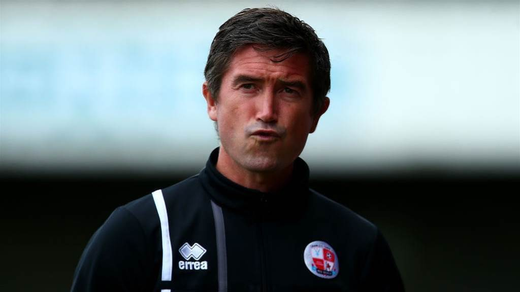 Kewell wants creeping Crawley to keep it up
