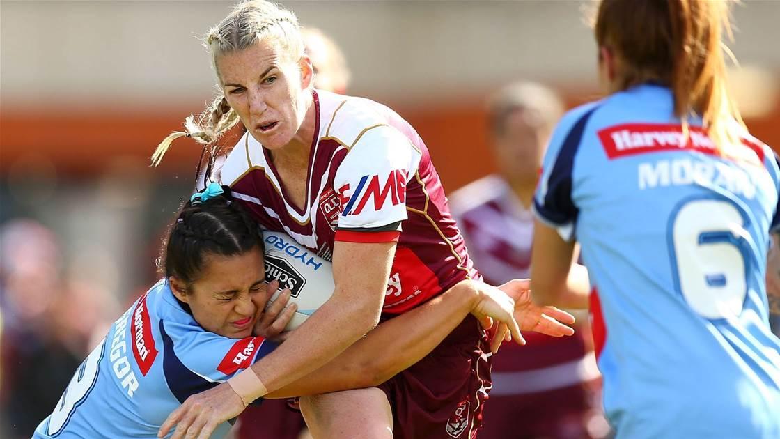 Queensland announce Women's State of Origin squad