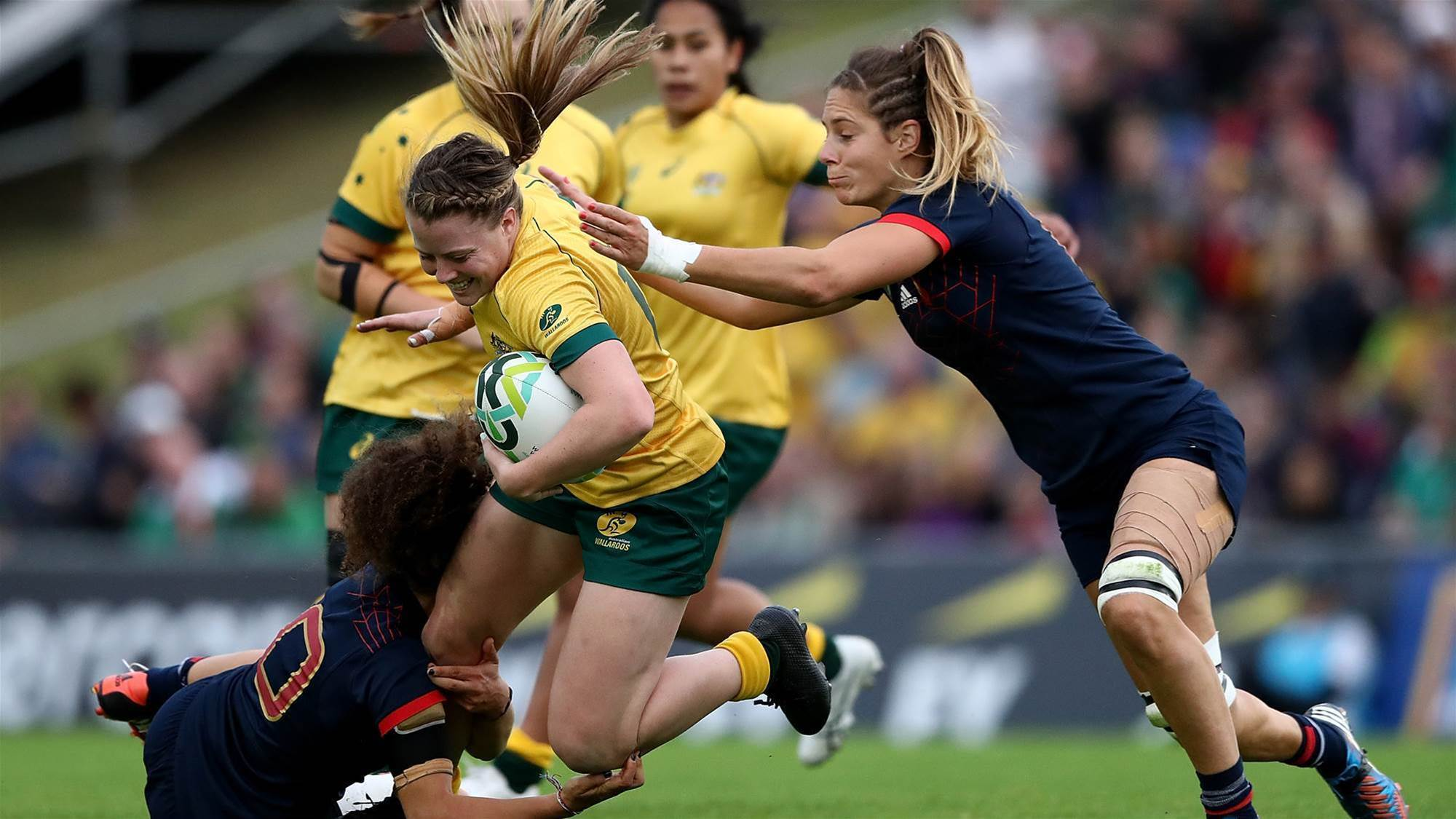 Wallaroos Bledisloe double header