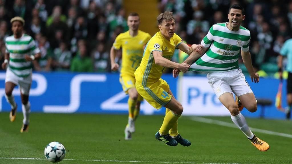 Rogic's Celtic out of Europa League