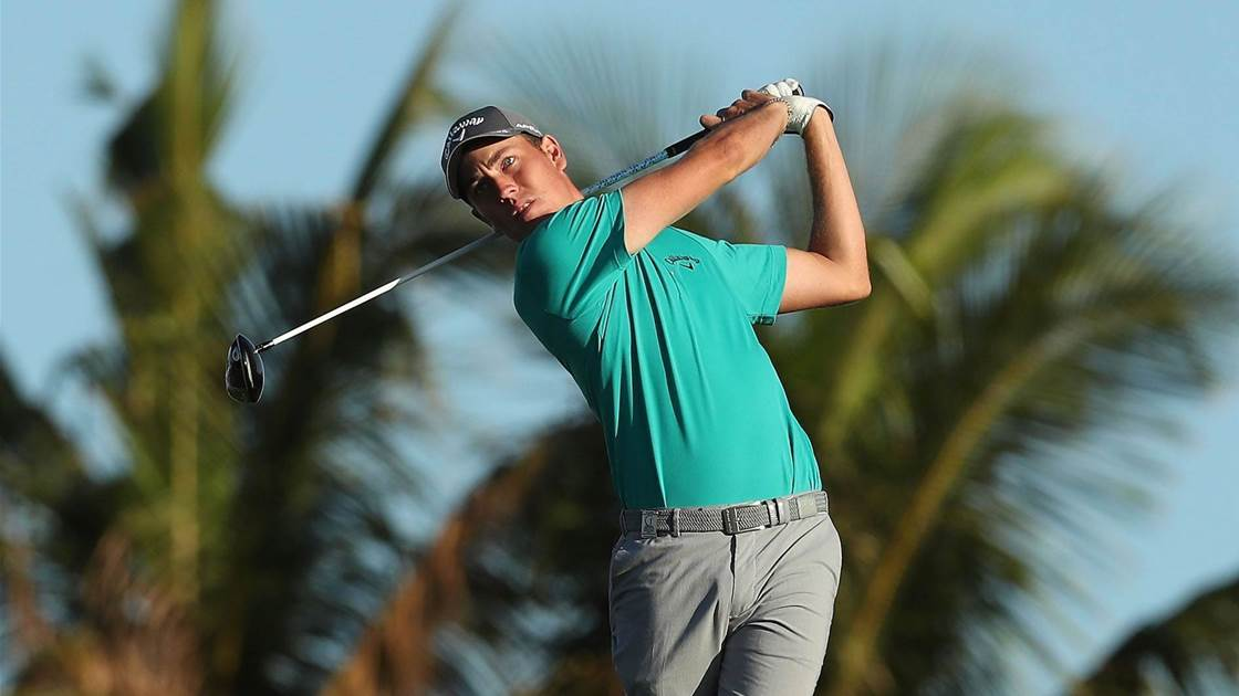 AUS OPEN: Quayle living out his Tin Cup dream