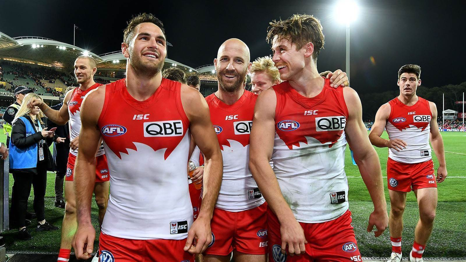 Swans name co-captains for 2019