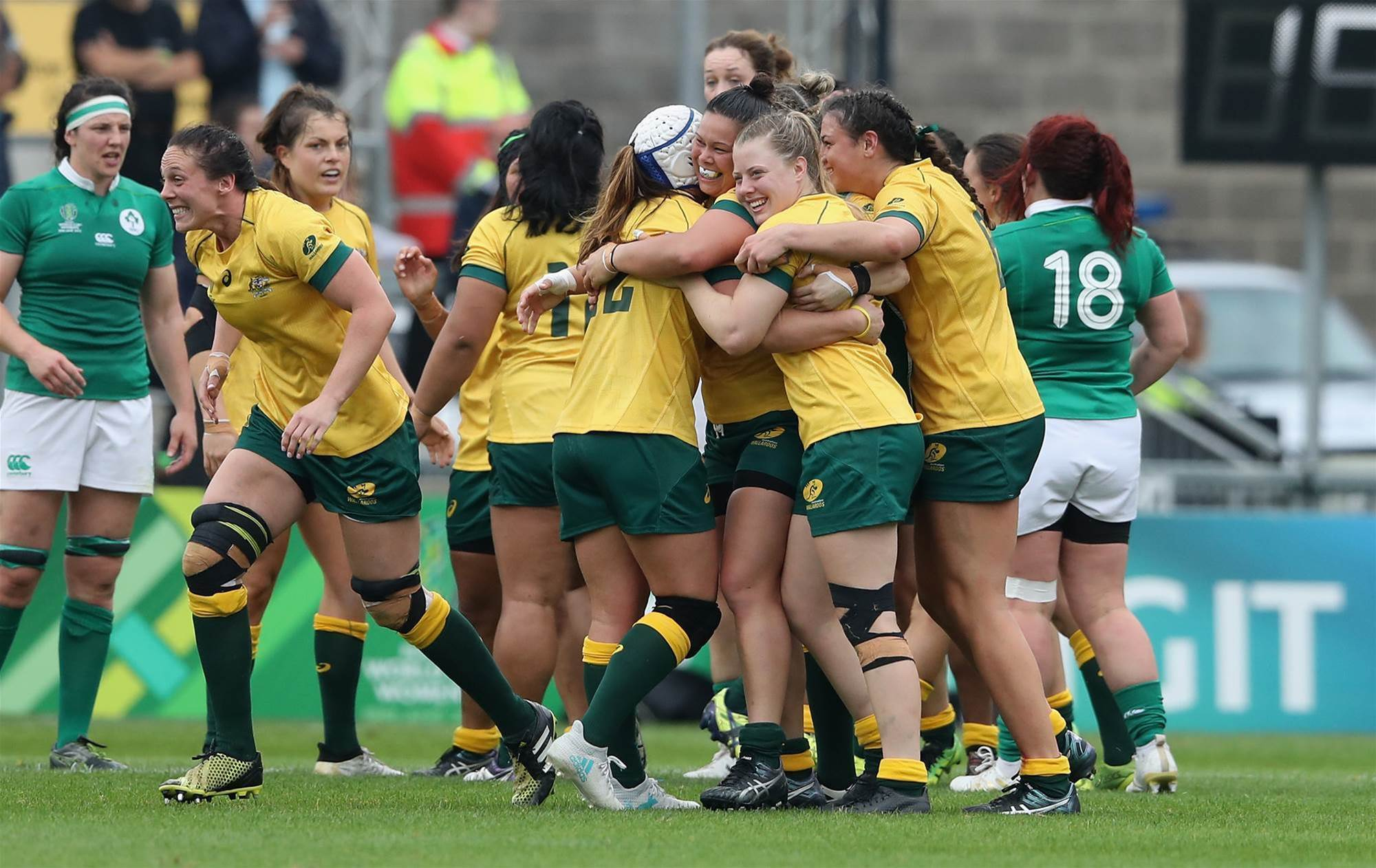 Wallaroos in camp ahead of historic game