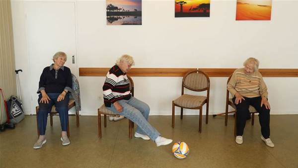 Can 'walking football' get your grandparents kicking goals?