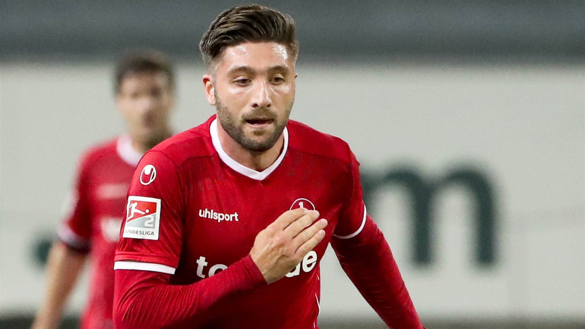 Borrello bags first German goal