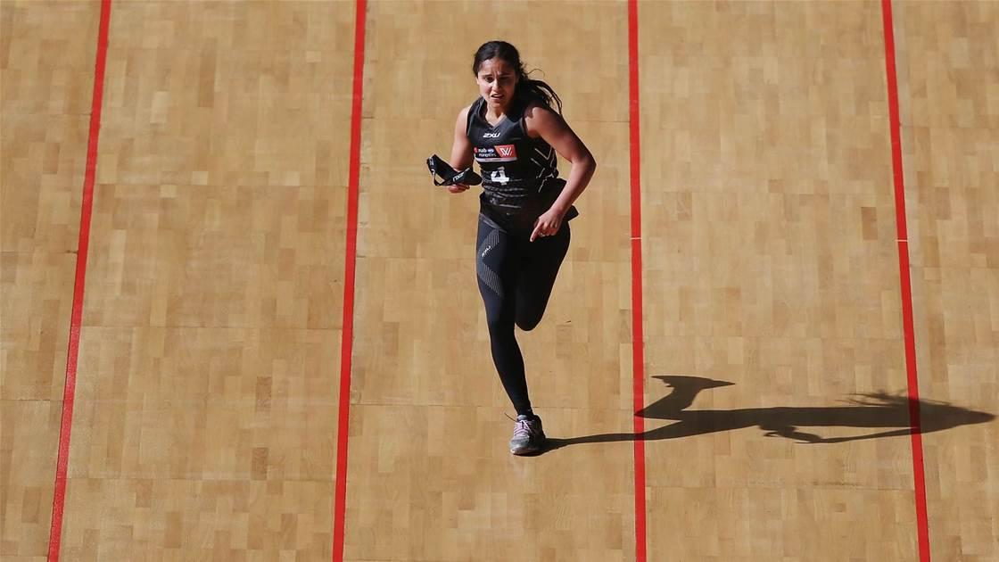 Watch! Zreika earns her debut