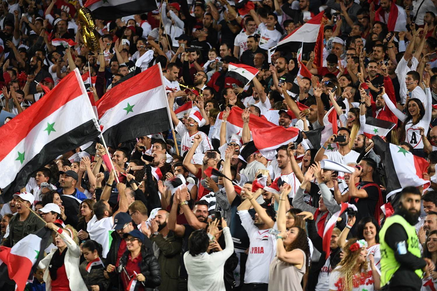Socceroos to face strong Syrian crowd