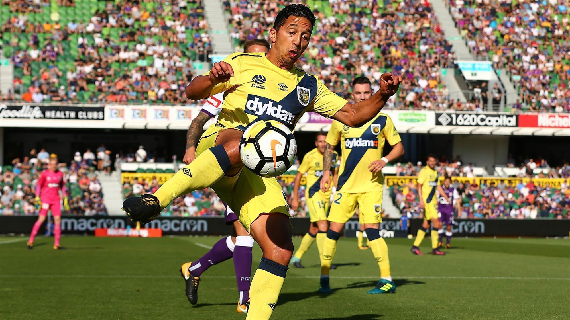 Hiariej on the fighting, physical A-League