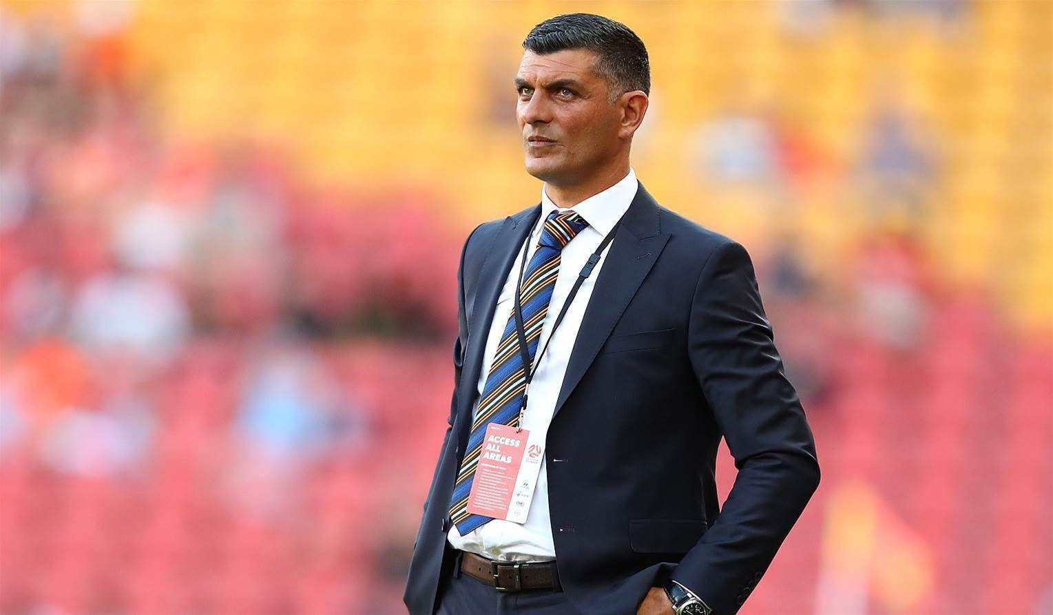 Aloisi 'happy' with Roar owners
