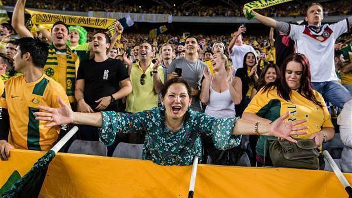 Football + Australia's surging population = huge chance