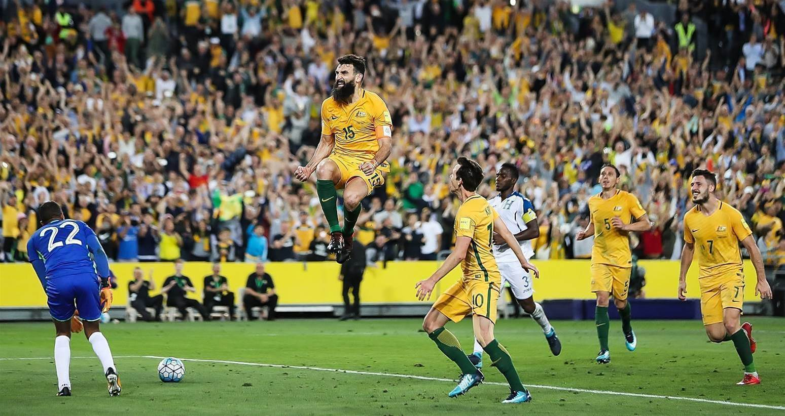 Socceroos reach five-year rankings high