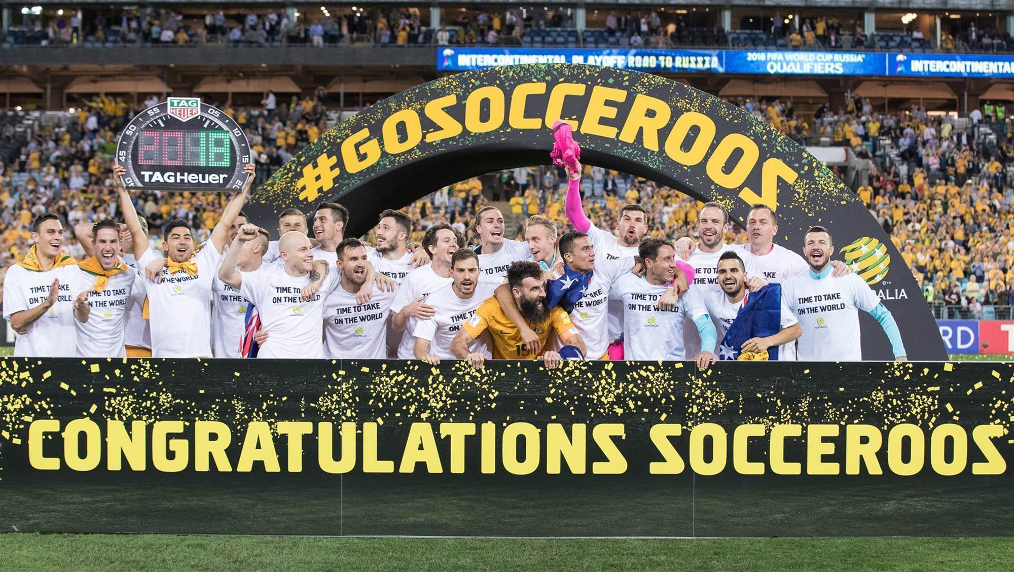 Socceroos record four-year rankings high