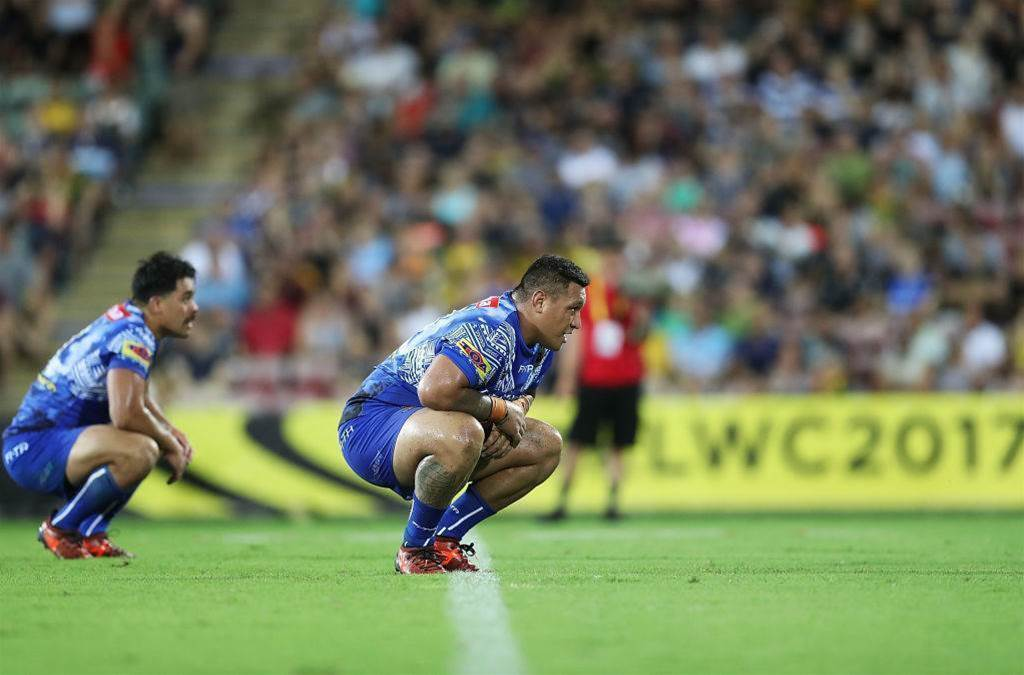 Josh Papalii in Knights' sights