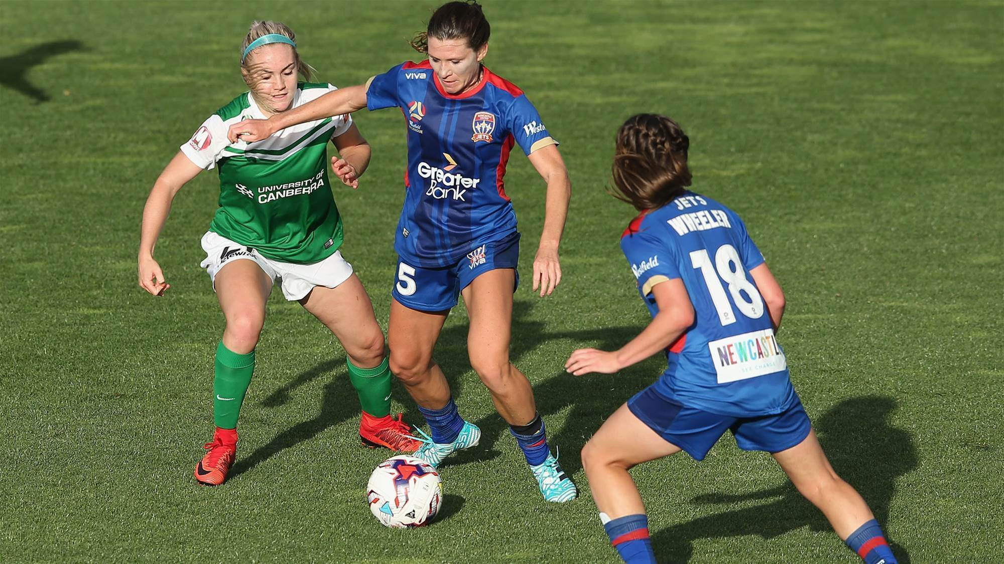 Jets move W-League match