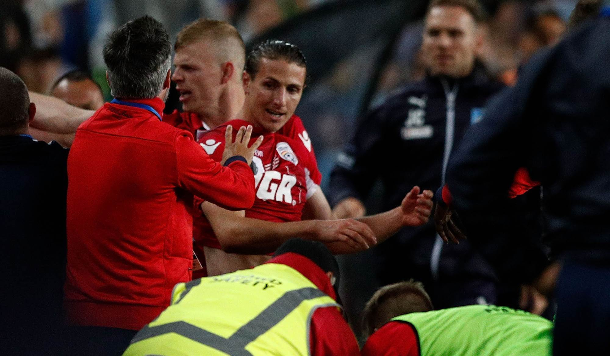Marrone cops two-match ban for ball boy fracas