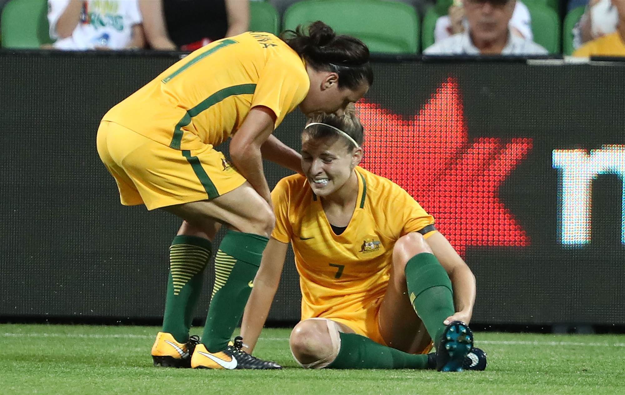 Catley in doubt for China re-match