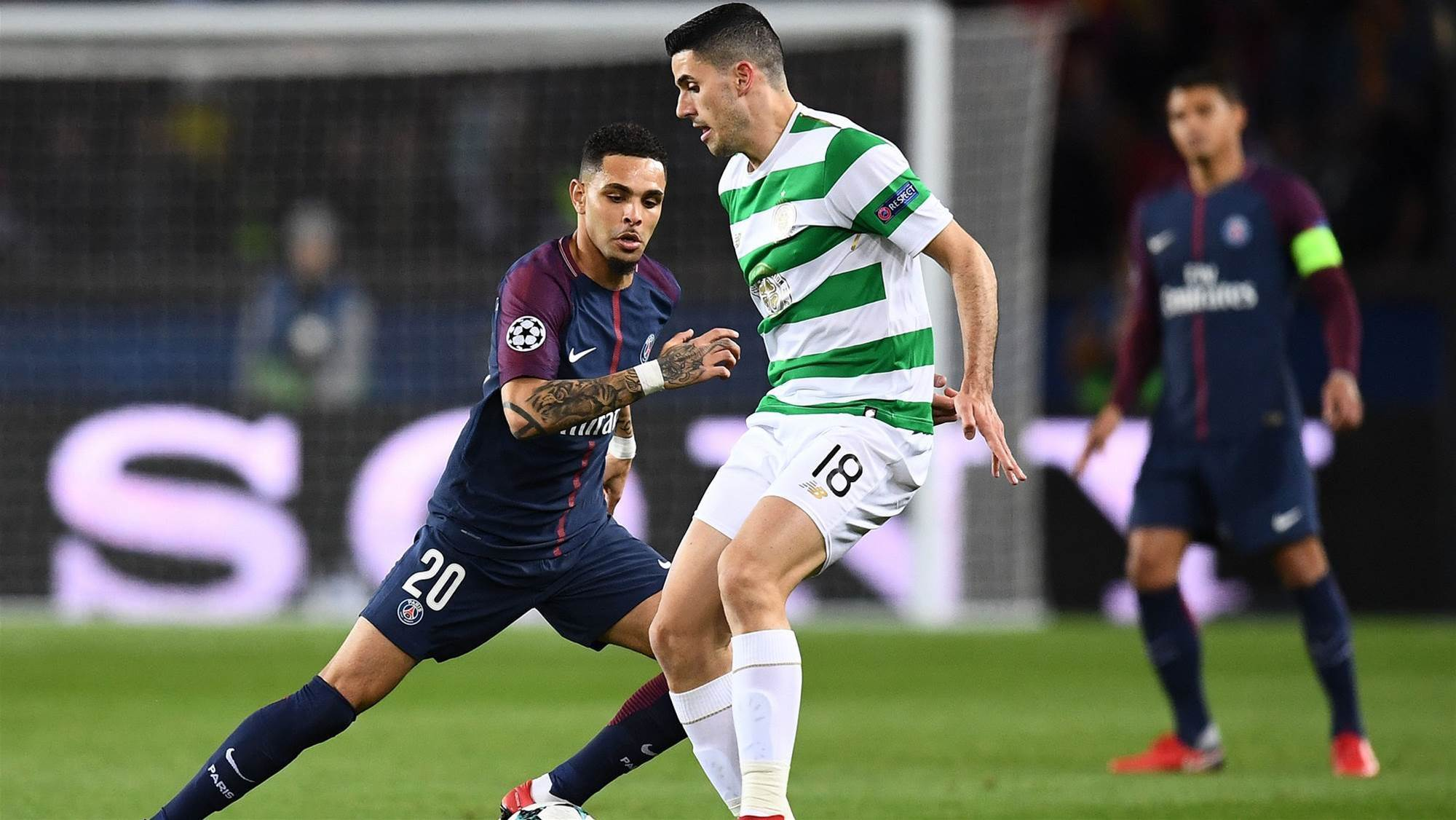 Rogic 'swamped' in PSG rout