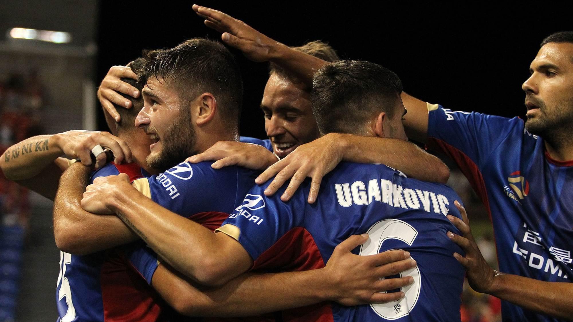 Newcastle Jets thrash Melbourne Victory - No more Mr Nice Guys
