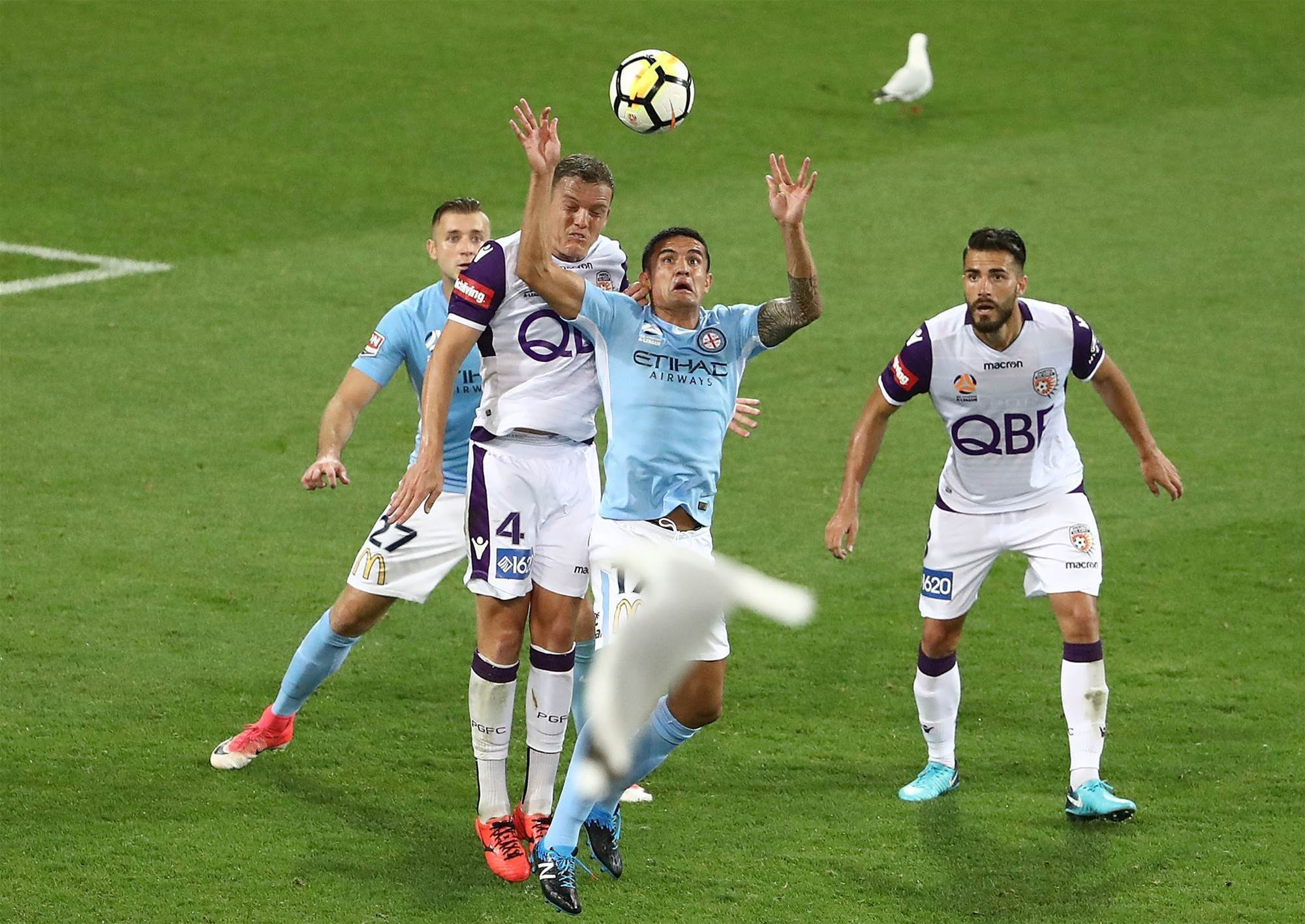 Player ratings: City v Glory