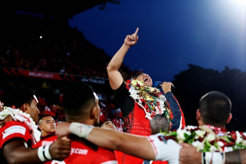 Tonga tussle for Kangaroos and Kiwis