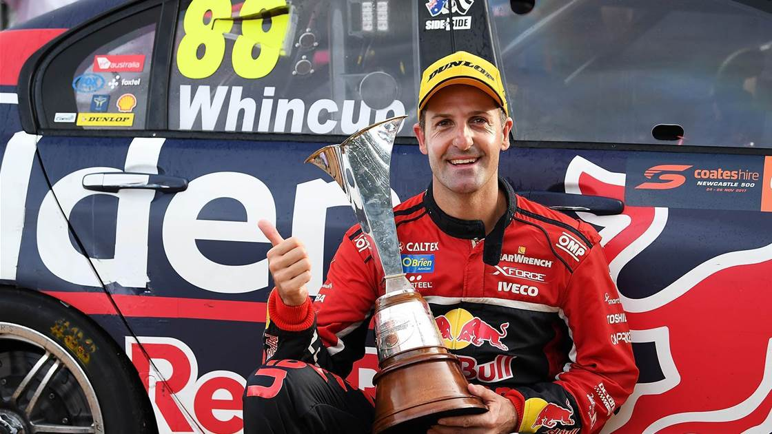 Whincup reveals 'scary' sacrifices in title triumph