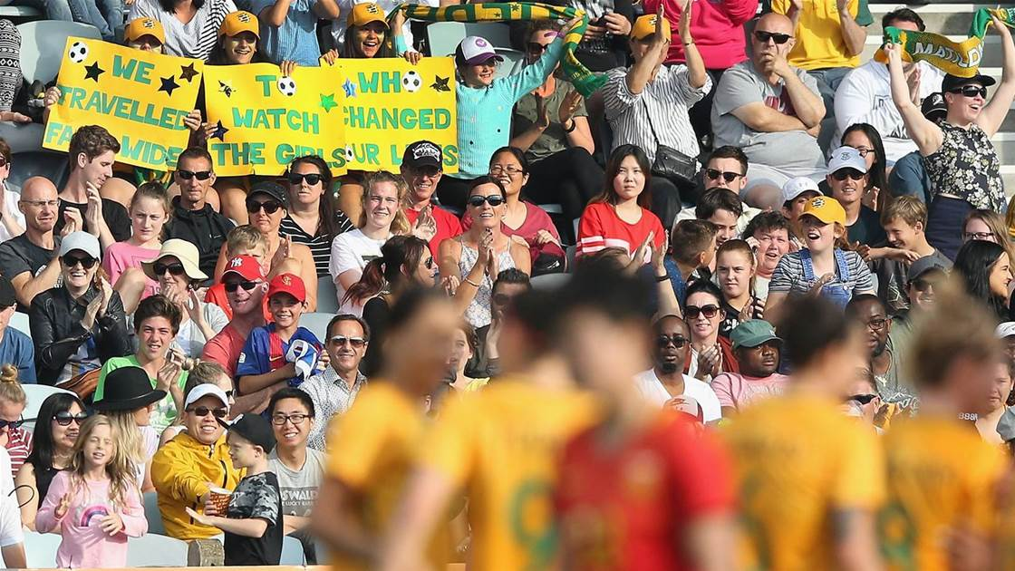 Home qualifiers exciting Matildas stars