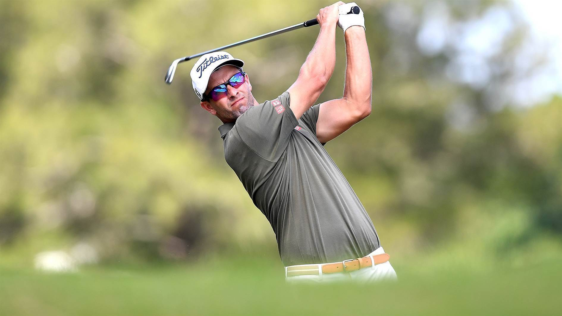 Adam Scott rethinks majors approach