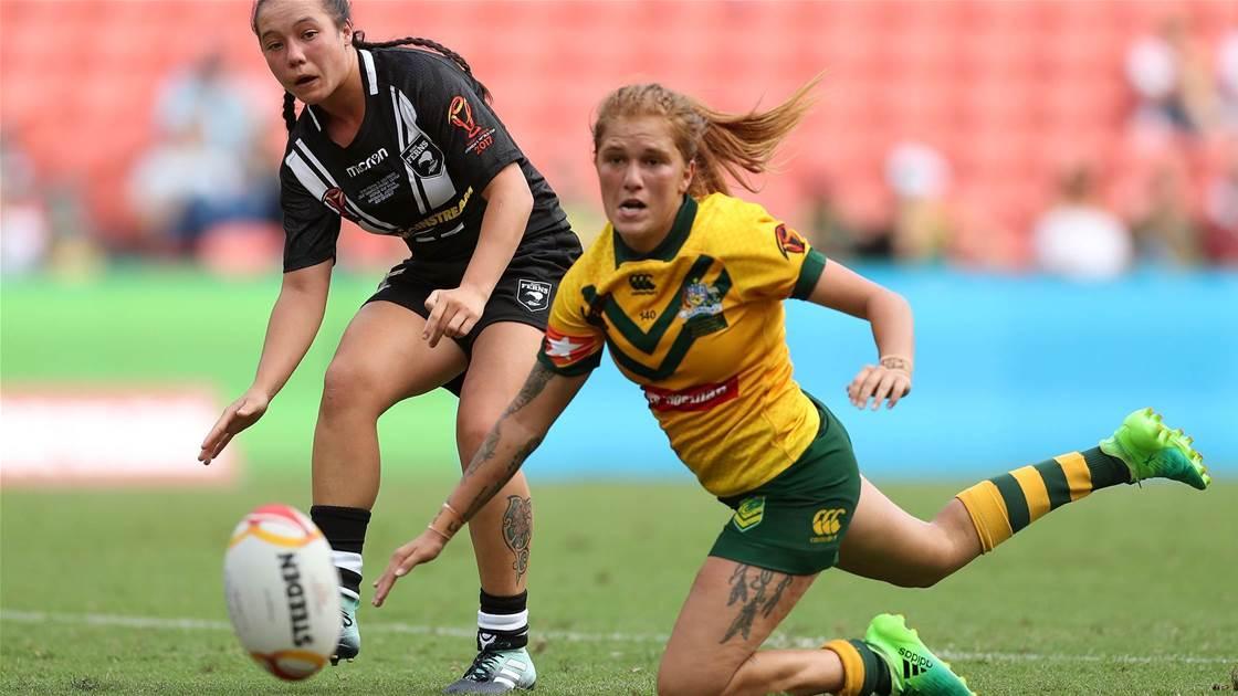 Jillaroo Caitlin Moran suffers knee injury