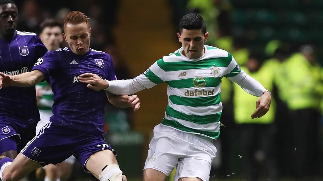 Rogic & Celtic qualify for Europa League