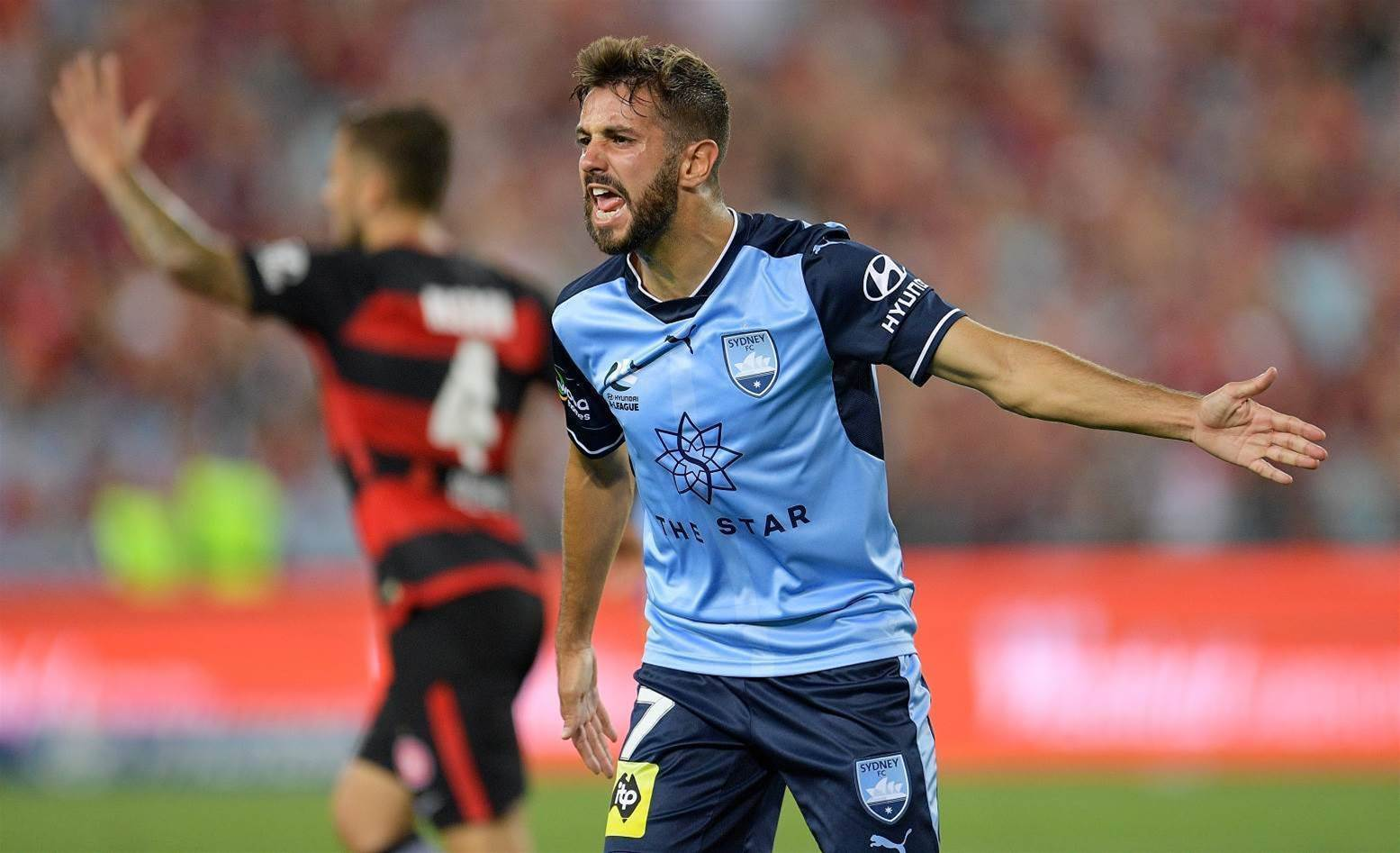 Zullo re-signs with Sydney FC