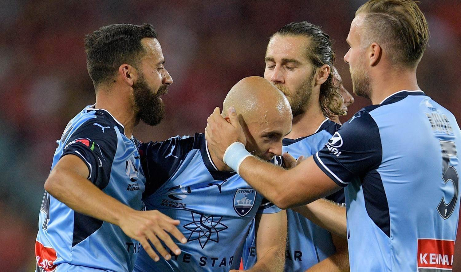 Pole-axed: Mierzejewski on Sydney FC's 5-0 derby rout