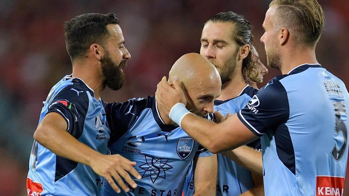 Pole-axed: Mierzejewski on Sydney FC's 5-0 derby rout