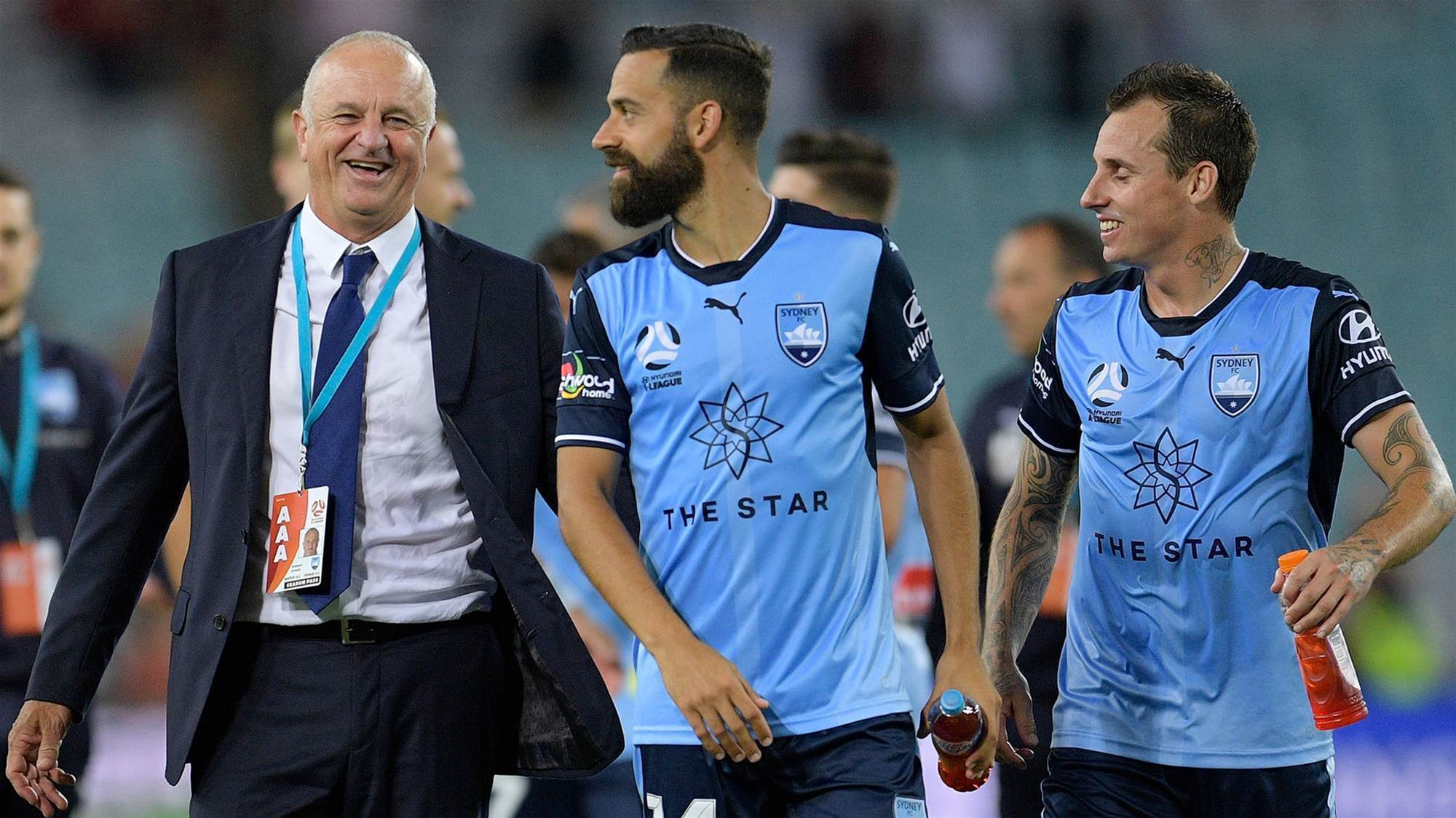 Sydney FC boss 'not joking' - he expected more