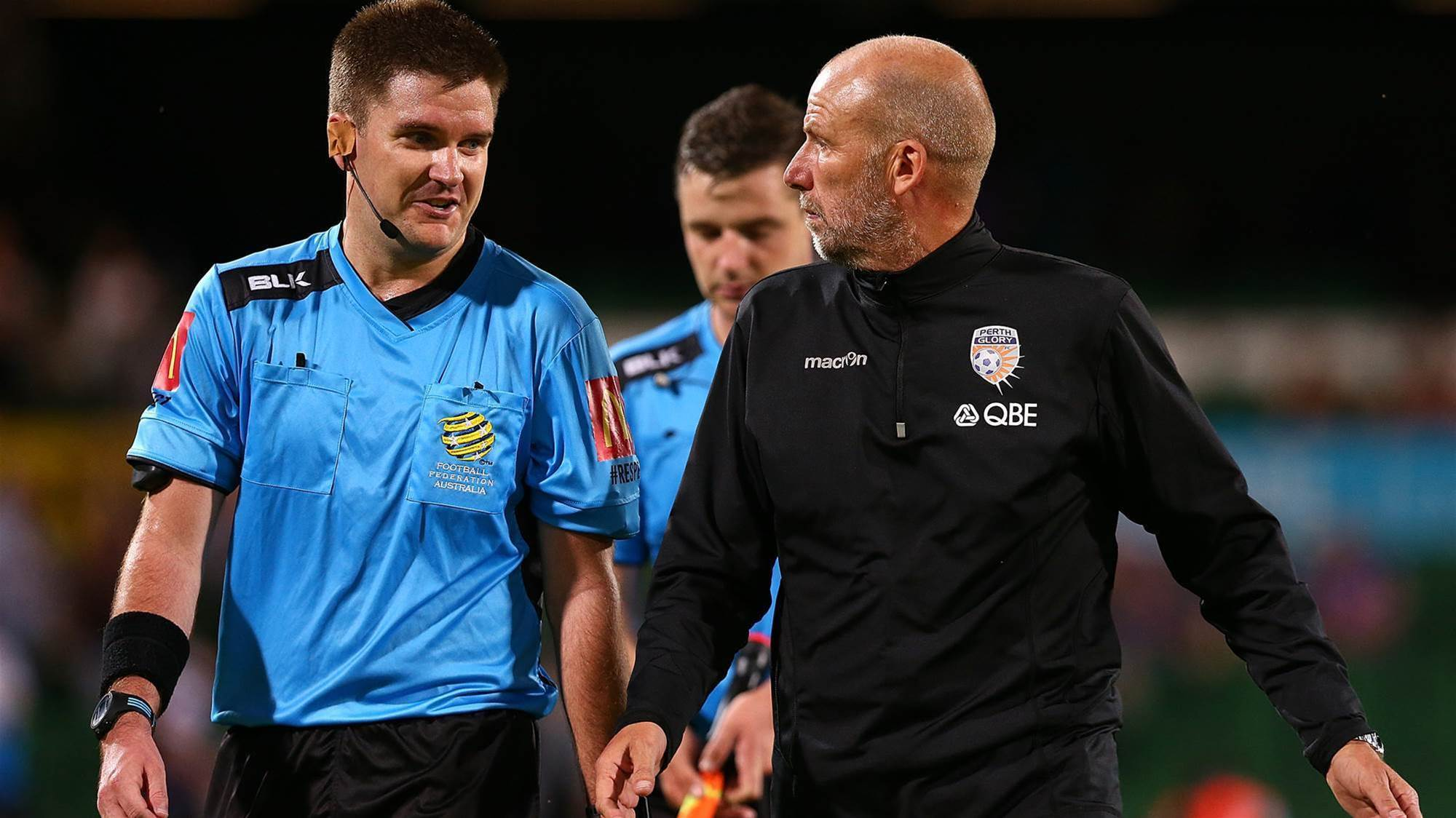 Kenny Lowe makes 'Ray Charles' jab at ref